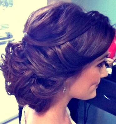 Stupendous Indian Bridal Hairstyles Updo39S 17 Zuri Hairstyle Inspiration Daily Dogsangcom